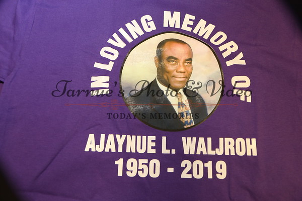 A SERVICE OF  THANKSGIVING  FOR   AJAYNUE LAWRENCE -WALJROH.