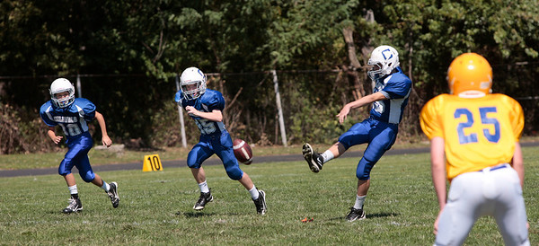 CCH 7th grade Football vs New Cath at Ludlow 2011