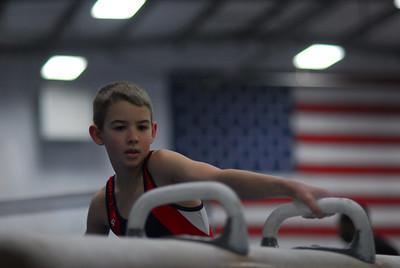 gymnastics 2009-2010