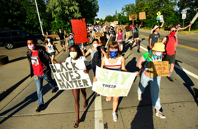 Photos: Black Lives Matter Protest in Boulder