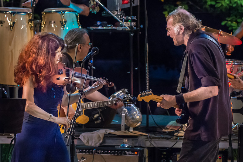 Scarlet Rivera and Lonnie Knight-Salute to the Music of Bob Dylan 2014-Wolfe Park, St. Louis Park