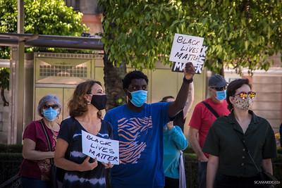 Manifestación Antiracista Sevilla