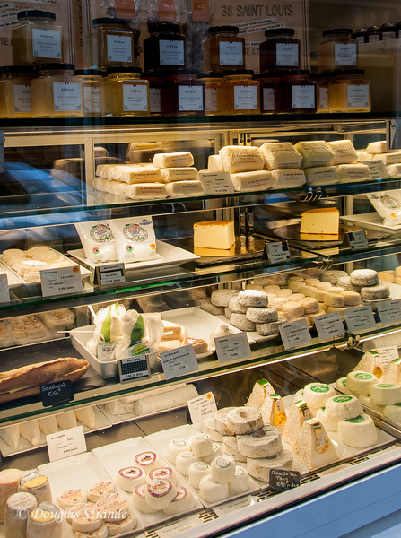 Cheese shop on rue St Louis