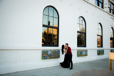 Parker and Breezy Wedding Ceremony and Reception at the Linen Building in Boise, Idaho
