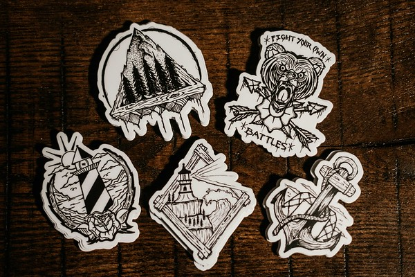Stickers-Pyrography