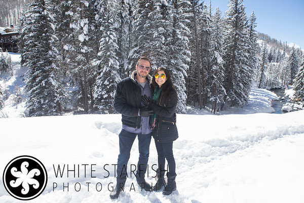Vail Engagement Photos - Lionshead - Gore Creek