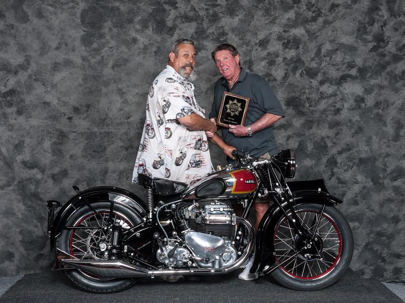 1939ArielSquare FourWinner:RalphNavaresClass: Honorable Mention/Silver Star Award
