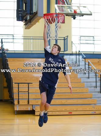 2/1/2012 - Boys Varsity Basketball - Nobles