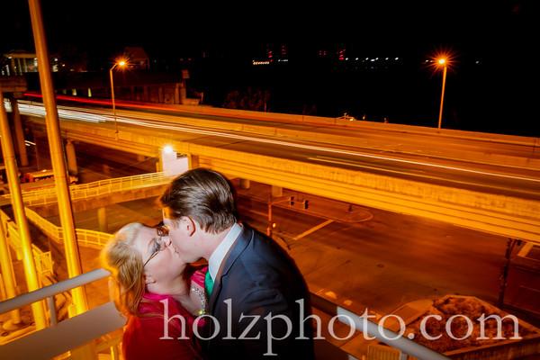 Lindsay & Ben Color Wedding Photos