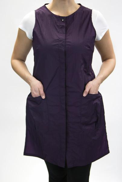 zipper jacket long eggplant4.jpg