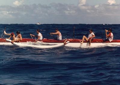 34th Annual Molokai Hoe 10-13-1985