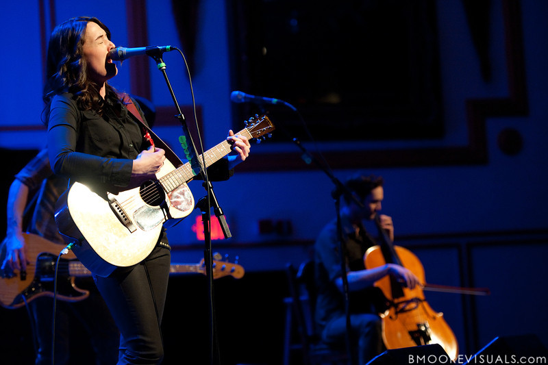 Brandi Carlile and Josh Neumann perform on February 18, 2010 at Capitol Theatre in Clearwater, Florida