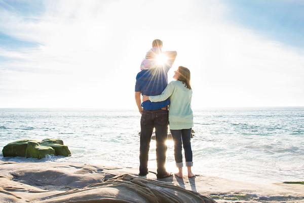 La Jolla Family Portraits - Windansea Beach RMC