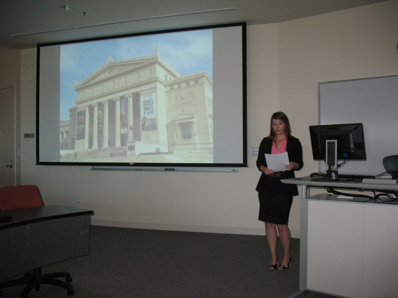Colleen Dennis describes her internship work in the botany department of the Field Museum
