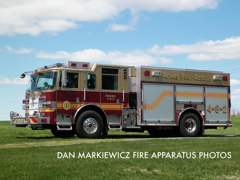 RONKS FIRE CO. ENGINE 4-8-2 2008 PIERCE PUMPER