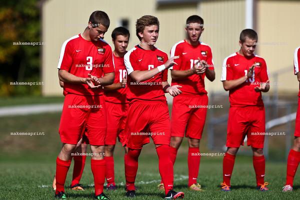 Varsity Boys Soccer v Lakeland (Sectionals)