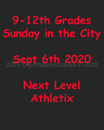 9-12 Sunday in the City