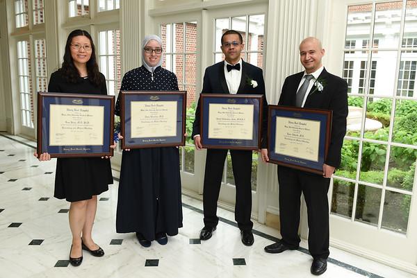 Hematology Fellows Graduation 2017