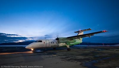 Narvik Lufthavn, Framnes