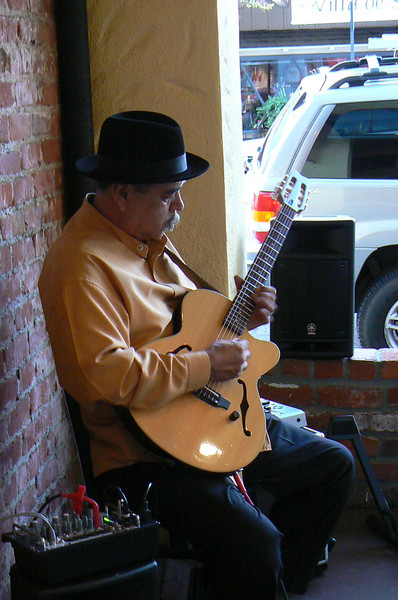 Amazing musician who played during cocktail hour