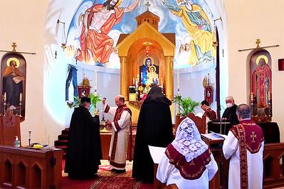 Bp. Daniel Visits St. Stepanos Church (Jun. 6, 2021)