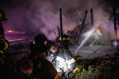 5335 S. Biloxi Court Barn Fire