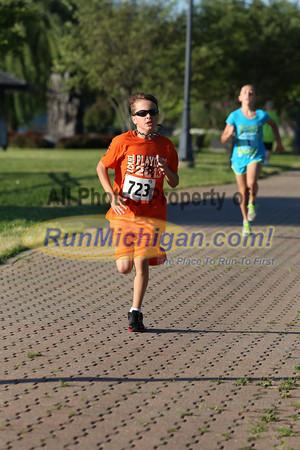 Kids Run Finish - 2013 Portofino Run for Art
