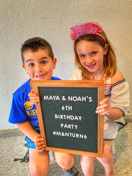 Noah Freeman and Maya Bar-Or 6th Birthday | MAY 19TH, 2019