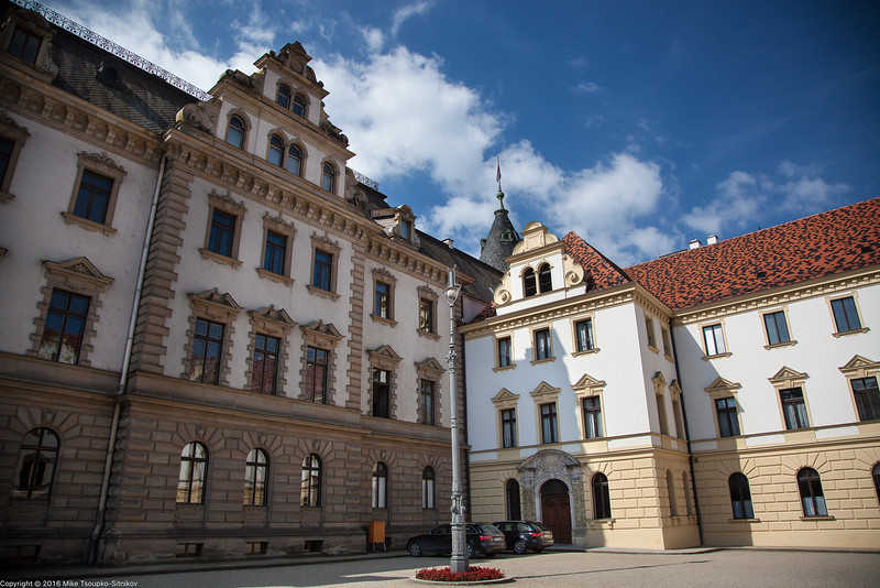 Thurn and Taxis Castle in Regensburg