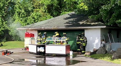 Garage Fire - East River Road Brighton, NY 6/16/21