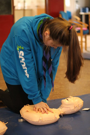 Explorers - Young Leader First Aid Course (February 2017)