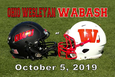 2019 Ohio Wesleyan at Wabash (10-05-19)