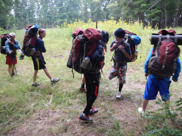 Freshman Wilderness Trip 2013