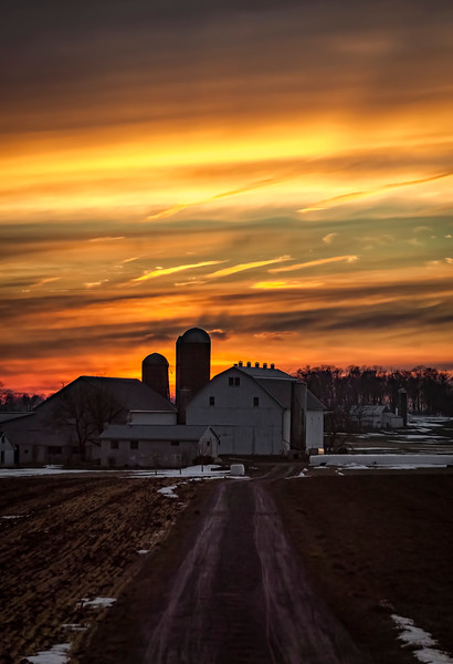 sunset - barn in the orange eve(p).jpg