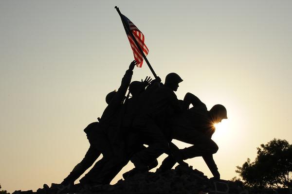 Iwo Jima Memorial ReLighting Dedication 5-28-12