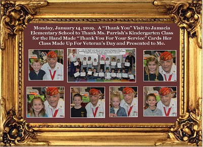 1-14-19 Ms. Parrish's Jamacia Kindergarten Class