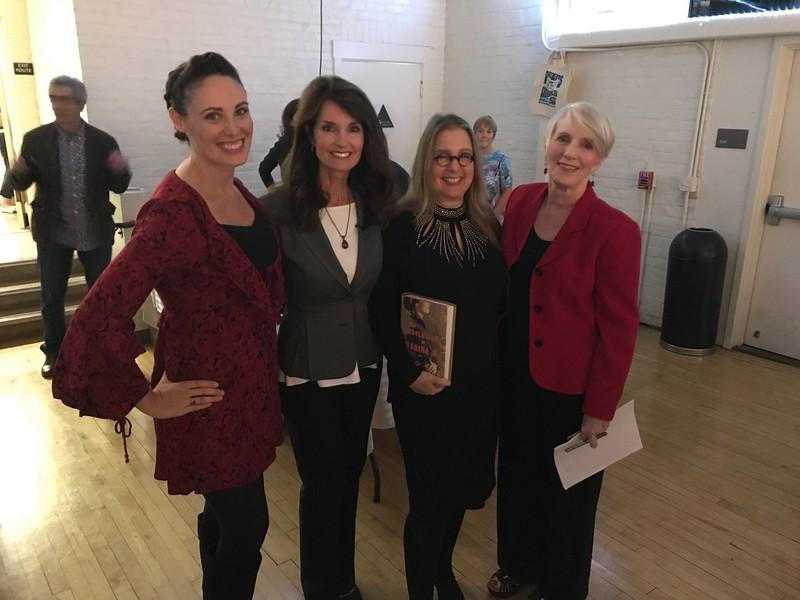 Allyson Finn, Beth Ruyak, Janet Fitch, Sue Staats