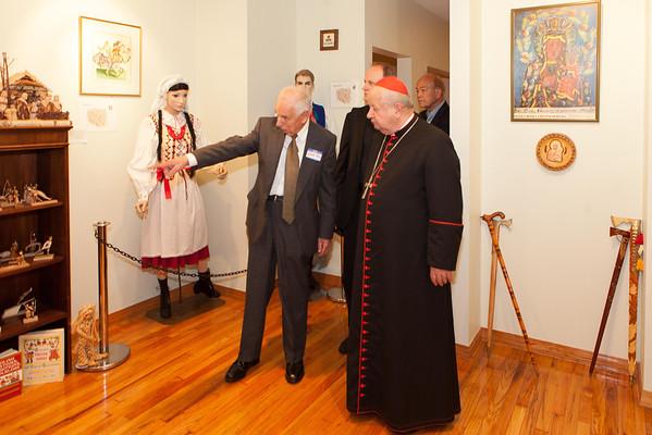 Cardinal Dziwisz Luncheon at JPII Center