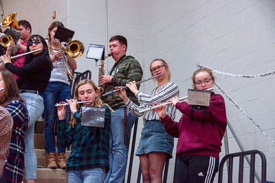 LB Pep Band @ Home BBK Game (2019-01-04)