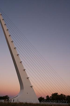 Sun Dial Bridge.  7719