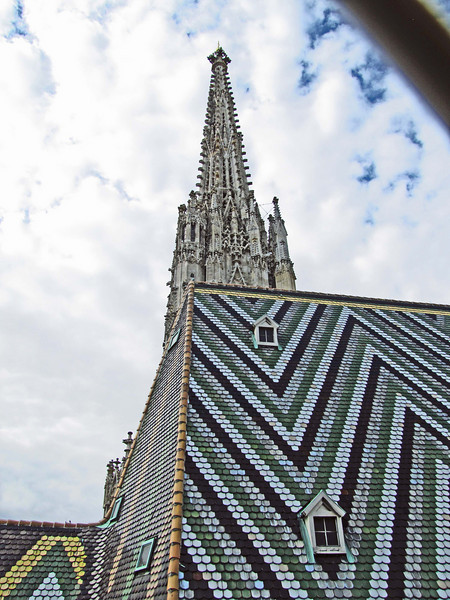 37-Spire of South Tower, seen from North Tower