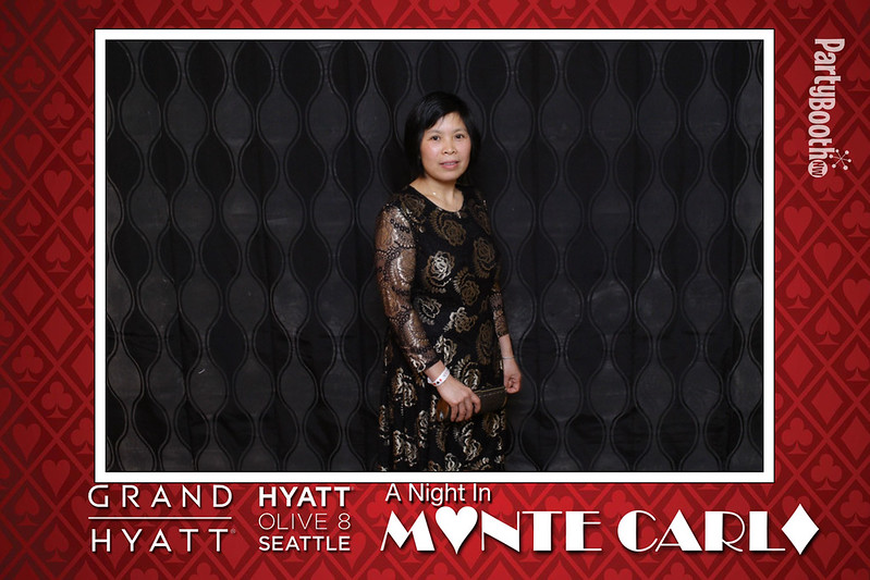 A Night in Monte Carlo with Team Hyatt Seattle