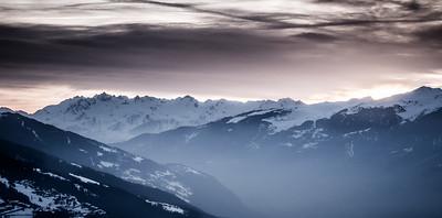 Un regard sur les montagnes...