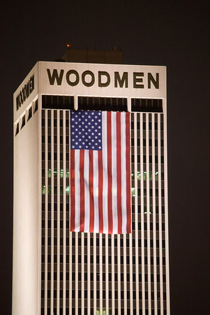 Woodman Tower 9-11 Memorial