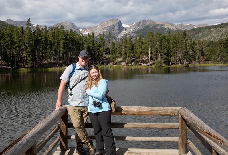 Jake and Danielle at Sprague Lake.jpg