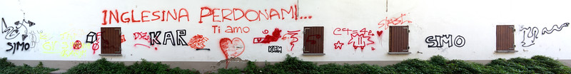 Modern Hieroglyphs - Reggio Emilia, Italy - December 14, 2012
