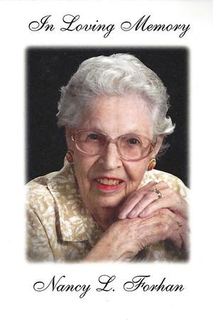 Nancy L. Forhan  - Funeral - May 6, 2016