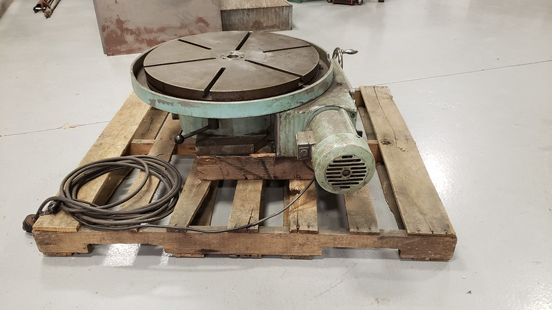 24 inch Rotary Table