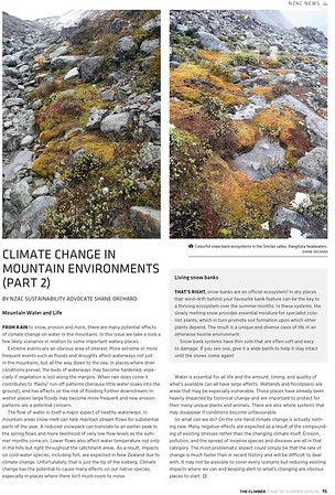 Climate change & mountains Part 2