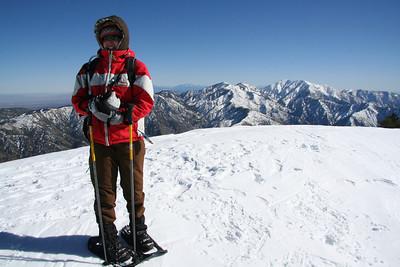 Baden-Powell Snowshoe Summit 01/13/08